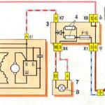 Схема подключения генератора 37.3701 (монтажный блок 2114-3722010-60)