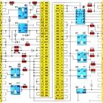 Схема соединений монтажного блока 2114-3722010-60