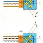 Схема разъемов задних фонарей ВАЗ 2109
