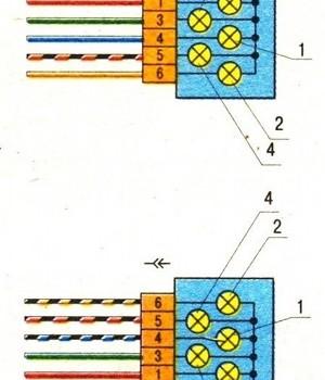 fonari 300x350 - Схема подключения заднего хода ваз 2109