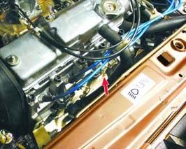Заглушка на блоке цилиндров ВАЗ 2109